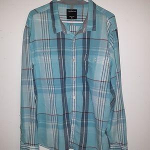 Calvin Klein Jeans button up shirt